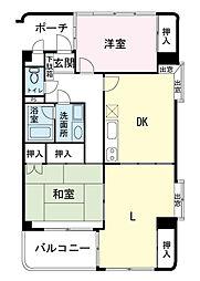 持田第一ビル[3階]の間取り