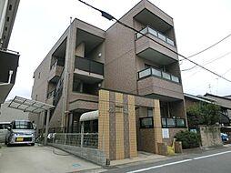 愛知県稲沢市北市場町東玄野の賃貸マンションの外観