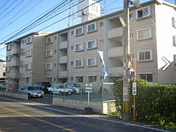 福岡県糟屋郡粕屋町長者原西3丁目の賃貸マンションの外観