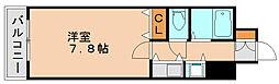 JGM県庁口[4階]の間取り