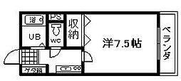 ミヤコピア高松[105号室]の間取り