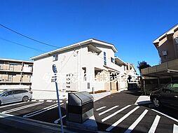 神奈川県川崎市麻生区千代ケ丘3丁目の賃貸アパートの外観