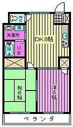 メゾンT−II[303号室]の間取り