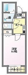キャメル津田沼II[1階]の間取り