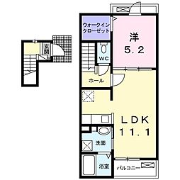 Casa・Hiromura[0203号室]の間取り