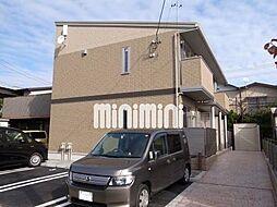 静岡県静岡市清水区神田町の賃貸アパートの外観