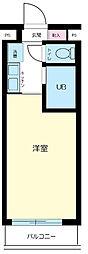 東京都新宿区横寺町の賃貸マンションの間取り