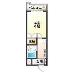 グランディアルネ西神弐番館[3階]の間取り