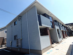 兵庫県加古郡播磨町古田2丁目の賃貸アパートの外観
