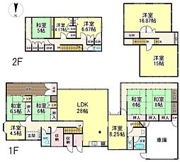 帯解駅 2,880万円
