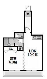 創建塚本ビル[7階]の間取り