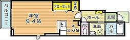 アライブマツバラI[1階]の間取り