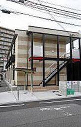 大阪府大阪市平野区平野東1丁目の賃貸アパートの外観