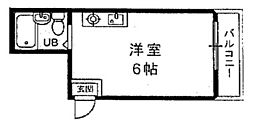 メゾン新高[301号室]の間取り