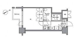 レジディア麻布台[6階]の間取り
