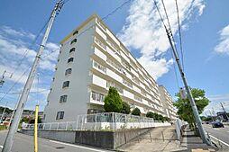 里水マンションB[8階]の外観