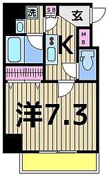 ベルグレードSK DUE[505号室]の間取り