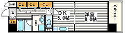 ベルビュー7番館[6階]の間取り