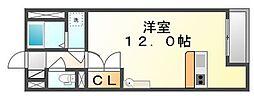 香川県丸亀市山北町の賃貸アパートの間取り