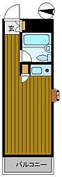 スーパーリッチ314[8階]の間取り