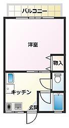 スコル津久井[1−2号室]の間取り