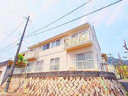 広島県広島市安佐南区高取北4丁目の賃貸アパートの外観