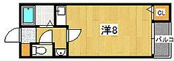 セドロアロサルII[1階]の間取り