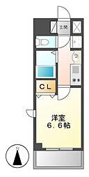 プレサンス大須観音駅前サクシード[3階]の間取り
