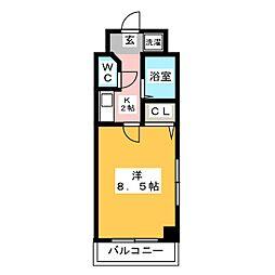 イーストパーク36[7階]の間取り