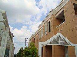 千葉県野田市つつみ野2丁目の賃貸アパートの外観