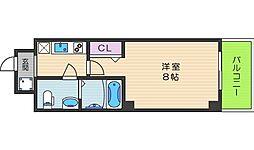 Co.labo天王寺[503号室]の間取り