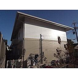 奈良県奈良市五条の賃貸アパートの外観