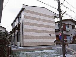 神奈川県川崎市多摩区南生田5丁目の賃貸アパートの外観