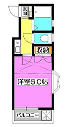 メゾンケヤキ[2階]の間取り