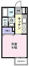 ミニヨン[2階]の間取り