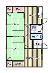[一戸建] 愛媛県新居浜市松神子2丁目 の賃貸【愛媛県 / 新居浜市】の間取り