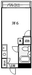 メゾンN[3階]の間取り