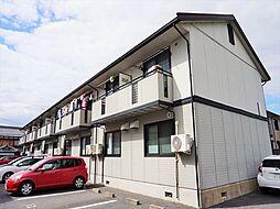 滋賀県近江八幡市安土町慈恩寺の賃貸アパートの外観