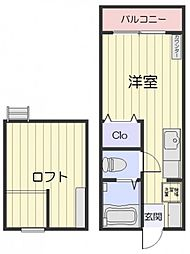 ボイス・K[2階]の間取り