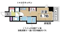 J-cube KOBE[6階]の間取り