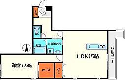 仮称)ディアコートM[3階]の間取り