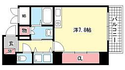 AXIS神戸みなと元町[2階]の間取り
