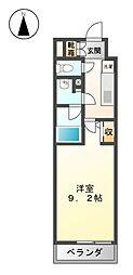 エルスタンザ徳川[8階]の間取り