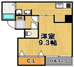 ロイヤルコート[1階]の間取り