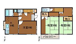 [一戸建] 神奈川県相模原市南区豊町 の賃貸【神奈川県 / 相模原市南区】の間取り