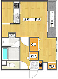 Casa Viento[3階]の間取り