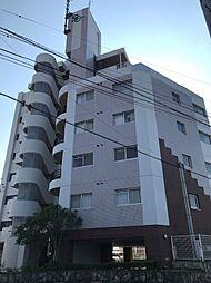 福岡県飯塚市柏の森の賃貸マンションの外観