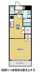 愛知県名古屋市千種区本山町3丁目の賃貸マンションの間取り