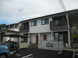 愛媛県松山市南江戸5丁目の賃貸アパートの外観