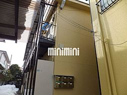 ミヤギアパートB[1階]の外観